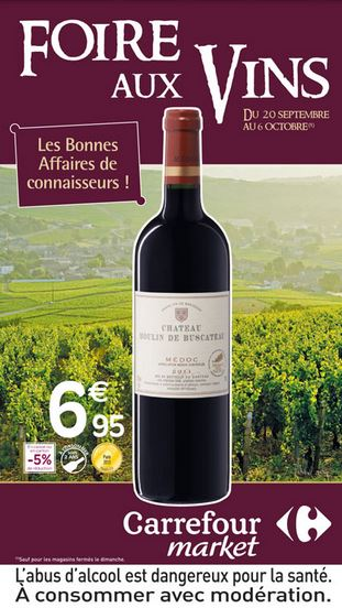 dates foire aux vins auchan leclerc carrefour catalogue foire aux vins 2015. Black Bedroom Furniture Sets. Home Design Ideas