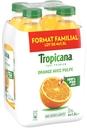 Bouteille de jus d'orange avec pulpe Tropicana pure premium 1,5 L